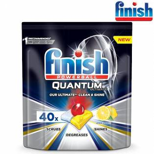 Finish Quantum Ultimate Lemon Kapsułki do Zmywarki 40szt.